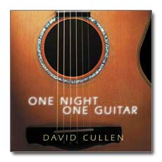 One Night One Guitar - David Cullen